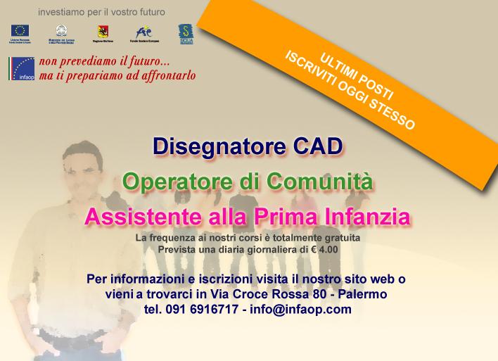 Sede di Palermo: Ultimi posti disponibili
